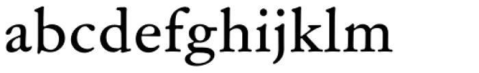 Garamond ATF Micro Font LOWERCASE