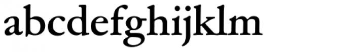 Garamond ATF SubHead Bold Font LOWERCASE