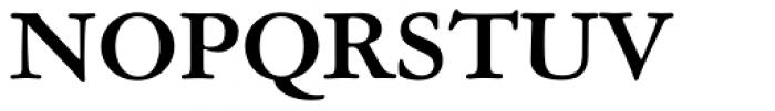 Garamond ATF Text Bold Font UPPERCASE