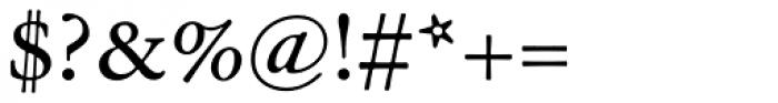 Garamond ATF Text Font OTHER CHARS