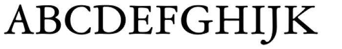 Garamond ATF Text Font UPPERCASE