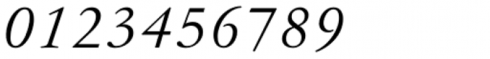 Garamond Antiqua Pro Italic Font OTHER CHARS