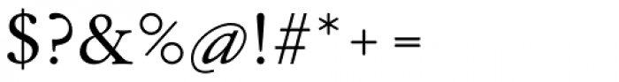 Garamond Antiqua Pro Font OTHER CHARS