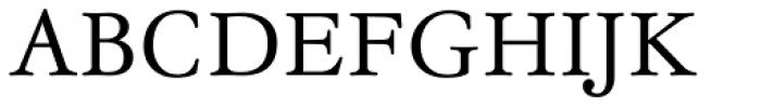 Garamond Antiqua Pro Font UPPERCASE