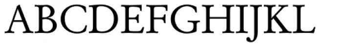 Garamond Antiqua Font UPPERCASE