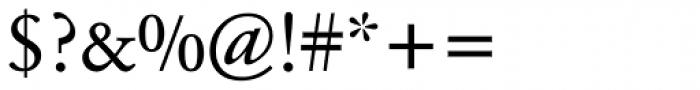 Garamond BE Pro Regular Font OTHER CHARS