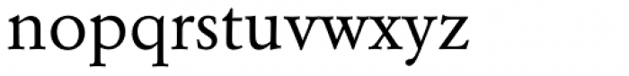 Garamond BE Pro Regular Font LOWERCASE