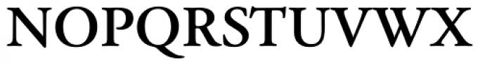 Garamond Classico Bold Font UPPERCASE