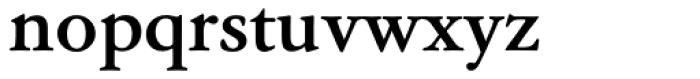 Garamond Classico Bold Font LOWERCASE