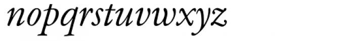 Garamond Classico Italic Font LOWERCASE