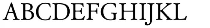 Garamond Classico SC Font UPPERCASE