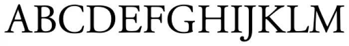 Garamond Classico Font UPPERCASE
