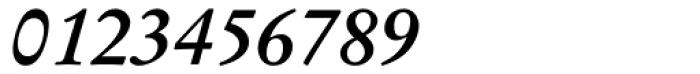 Garamond Kursiv Halbfett Font OTHER CHARS