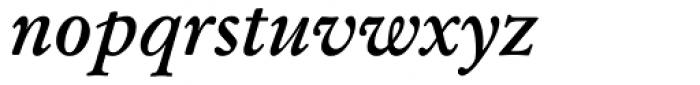 Garamond Kursiv Halbfett Font LOWERCASE