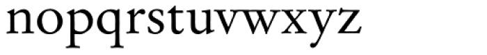 Garamond No 2 Font LOWERCASE