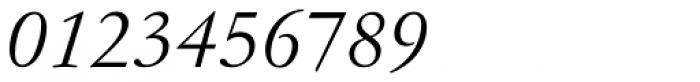 Garamond No 4 Light Italic Font OTHER CHARS
