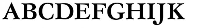 Garamond No 4 Medium Font UPPERCASE