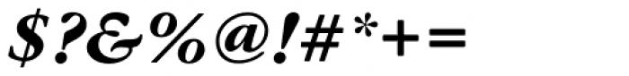 Garamond Nova Pro Bold Italic Font OTHER CHARS