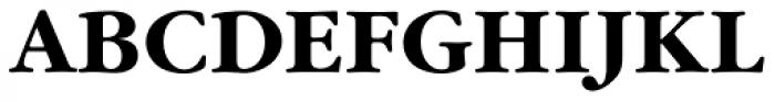 Garamond Nova Pro Bold Font UPPERCASE