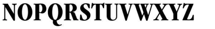 Garamond Nova Pro Condensed Bold Font UPPERCASE