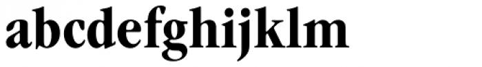 Garamond Nova Pro Condensed Bold Font LOWERCASE