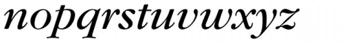 Garamond Nova Pro Italic Font LOWERCASE