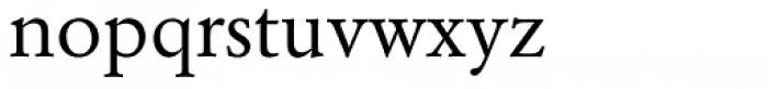 Garamond Nr 2 SB Book Font LOWERCASE
