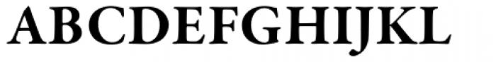 Garamond Premr Pro Bold Font UPPERCASE