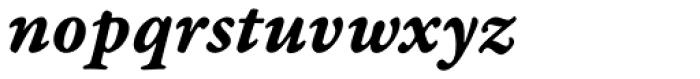 Garamond Premr Pro Caption Bold Italic Font LOWERCASE