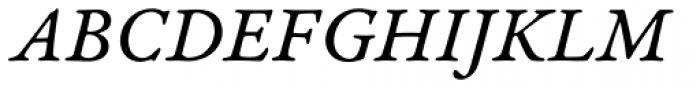 Garamond Premr Pro Caption Italic Font UPPERCASE