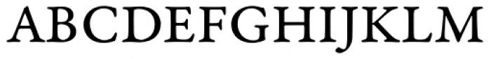 Garamond Premr Pro Caption Font UPPERCASE
