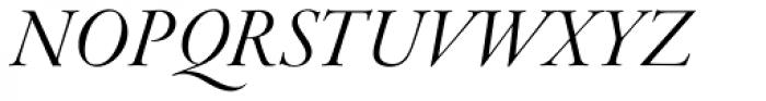 Garamond Premr Pro Display Italic Font UPPERCASE