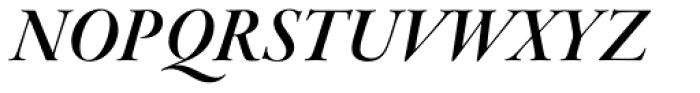 Garamond Premr Pro Display SemiBold Italic Font UPPERCASE