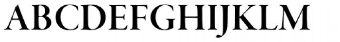 Garamond Premr Pro Display SemiBold Font UPPERCASE