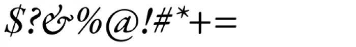 Garamond Premr Pro Med Italic Font OTHER CHARS