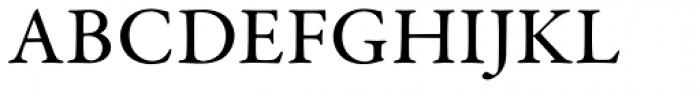 Garamond Premr Pro Med Font UPPERCASE
