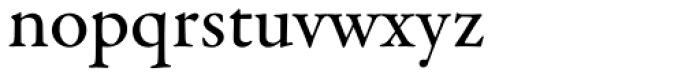 Garamond Premr Pro Med Font LOWERCASE