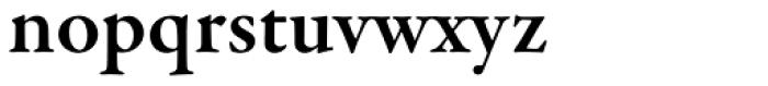 Garamond Premr Pro SemiBold Font LOWERCASE