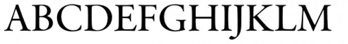 Garamond Premr Pro SubHead Med Font UPPERCASE