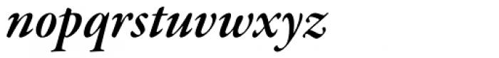 Garamond Premr Pro SubHead SemiBold Italic Font LOWERCASE