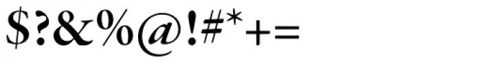 Garamond Premr Pro SubHead SemiBold Font OTHER CHARS