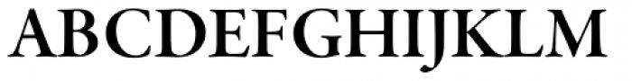 Garamond Premr Pro SubHead SemiBold Font UPPERCASE