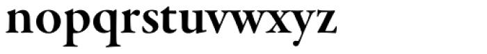 Garamond Premr Pro SubHead SemiBold Font LOWERCASE