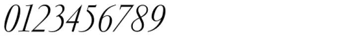 Garamond RR Light Italic Font OTHER CHARS