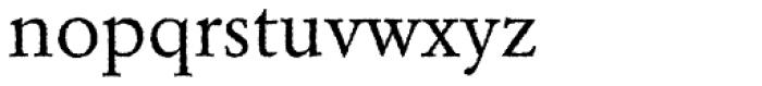 Garamond Rough H EF Font LOWERCASE