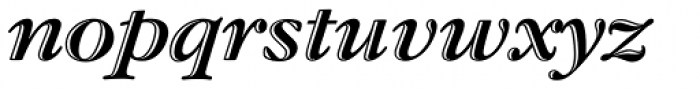 Garamond Std Handtooled Bold Italic Font LOWERCASE