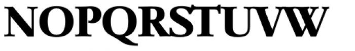 Garamond TS Bold Font UPPERCASE