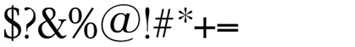 Garamond TS Light Font OTHER CHARS