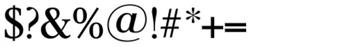 Garamond TS Regular Font OTHER CHARS