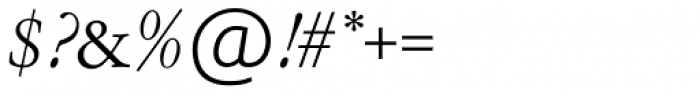 Garamont Amst EF Italic Font OTHER CHARS